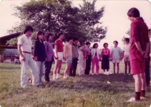 softball우승후의 주의기도 1982년 Columbus, Ohio