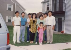매디슨을 떠나던 날, 바른쪽이 길정일 후배, 1989년 여름