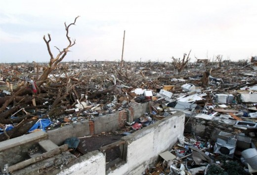 surreal: after Joplin monster twister hits, May 22, 2011