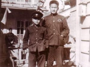용기형과 가회동 집에서, 중학교 1학년때 1960년 쯤