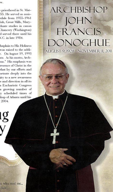 Archbishop Emeritus John Francis Donoghue