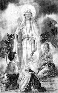 Fatima(파티마) 목동들에게 나타나신 성모님