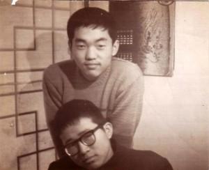 연세대 입학 직전, 죽마고우 안명성과, 1966년