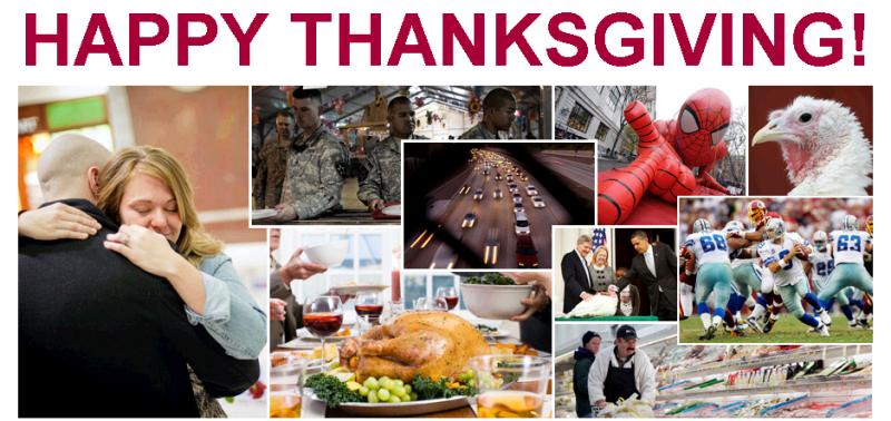Thanksgiving, 2011 Huffington Post version