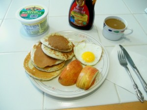 My own Pancake breakfast
