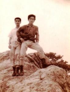 관악산에서, 1968