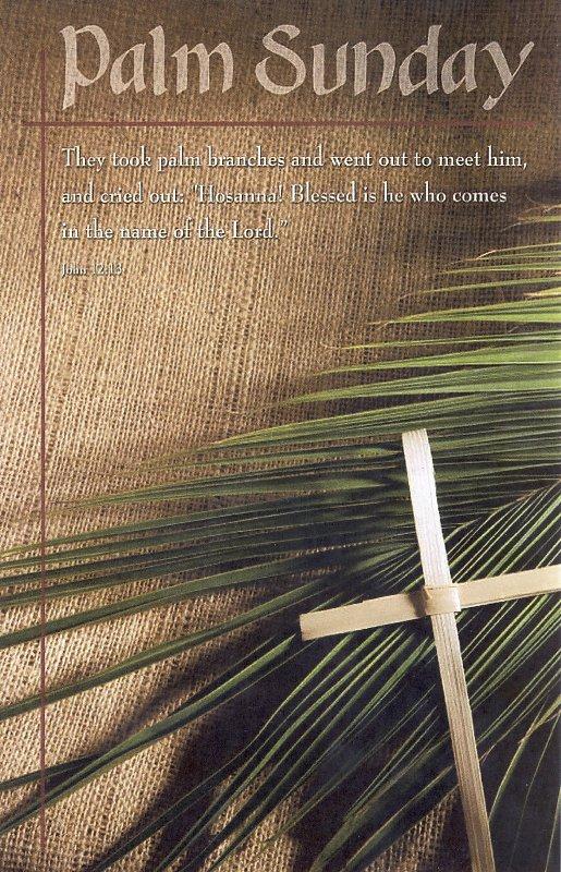 Palm Sunday, 2012