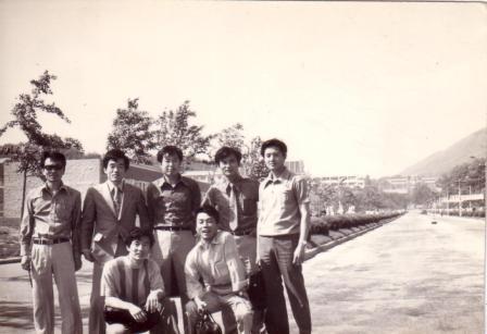 내가 친구들과 마지막으로 본 백양로, 1973년 6월