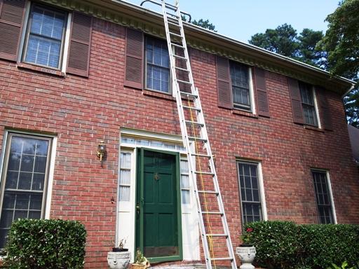 ladder & gutter time!