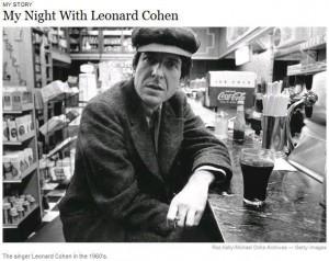 Leonard Cohen in 60's