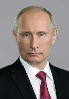 Vladimir Putin, credit: WikiMedia
