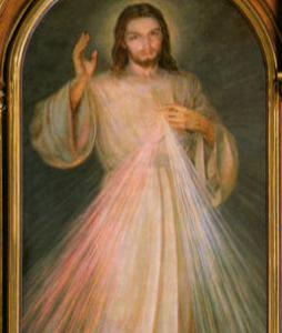 자비의 예수, 상본