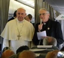 Pope Francis, 사라예보 방문 후 돌아오는 비행기에서 기자회견