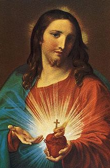 Sacred Heart of Jesus by Pompeo Batoni, 1767