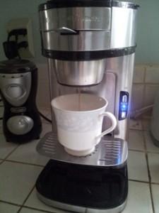 Ha.. single cup, finally!