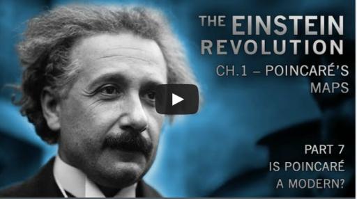Einstein 시대적 배경은 뽀앵카레 (프랑스 수학자) 의 지도로 부터 시작된다.
