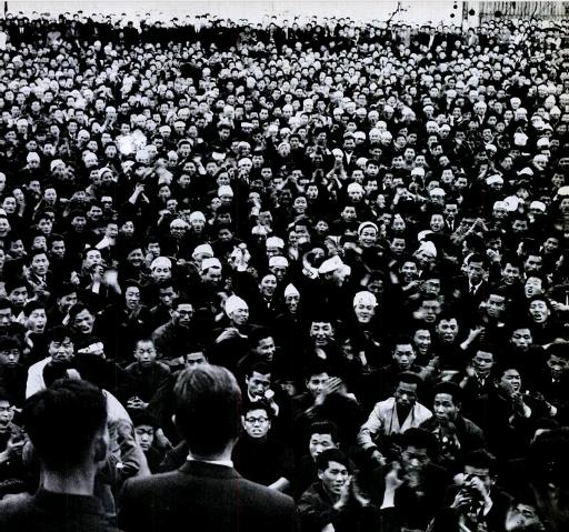 '전투' 대학생, 고대 형님들의 절규의 함성, 국회 의사당 앞에서