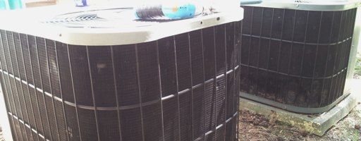 Clunking OLD a/c condensers
