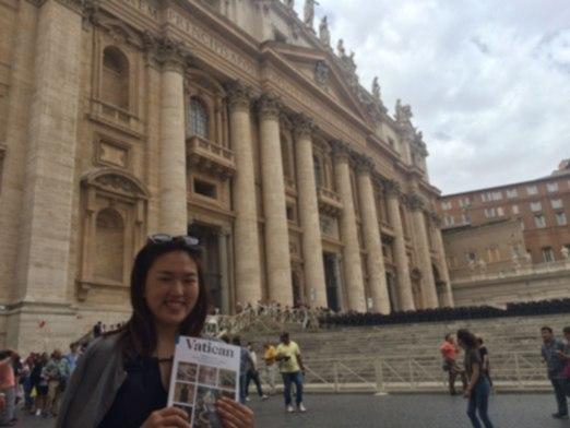 Vatican St. Peter's Square 에서
