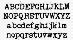 typesets